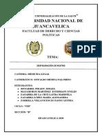 TRABAJO DE BALISTICA EXTERIOR