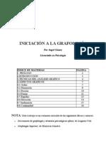 (Literatura) (Medicina) (Grafología) (Psiquiatría) Iniciación a la Grafología - Licenciado en Psicología - Ángel Gómez(pdf)