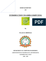 REPORT ON grid computing