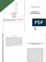 Williams - Base e Superestrutura - Cultura e Materialismo