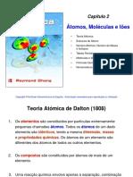 átomos, moléculas e iões