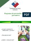 Programas de prevención, modelos preventivos