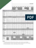 2019 - 2020- calendário escolar & de marcação de testes