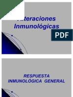 Alteraciones Inmunológicas