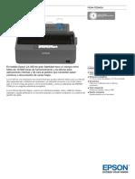 Epson-LX-350-Ficha técnica