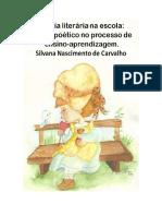 Silvana Carvalho Projeto Poesias