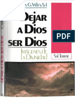Valles Carlos-Dejar a Dios ser Dios