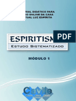 CAVILE Estudo Sistematico Da Doutrina Espirita - Aula 01