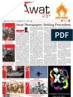 Awat Newspaper, Issue # 1