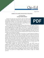 America's Flawed Afghanistan Strategy Pub1014