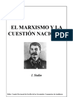 Stalin cuestion nacional