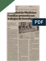 VIII JORNADAS DE LA UNIDAD DOCENTE DE MFyC DE CIUDAD REAL