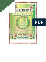 Permissibility of Esaal Thawaab English