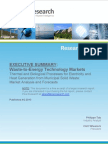 Waste-to-Energy Executive Summary (2011)