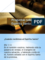 doctrina del espritu santo