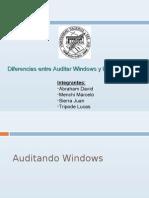 Diferencia entre auditar Windows y Linux5