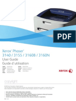 Xerox Phaser 3160N - Users Guide