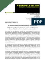 Demo gegen die Lügen der Dessauer Polizei
