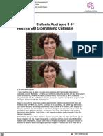 La lectio di Stefania Auci apre il 9° Festival del Giornalismo Culturale - Vivereurbino.it, 8 ottobre 2021