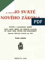 PÍSMO SVÄTÉ NOVÉHO ZÁKONA