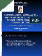 CARACTERISTICAS GENERALES Recien Nacido HVCM(final)