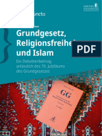 Ademi Cefli - Grundgesetz Religionsfreiheit Und Islam