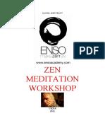 Daniel Medvedov Zen Workshop