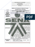Estructura - TG Admin is Trac Ion Del Ensamble y Mantenimient de Com Put Adores y Redes