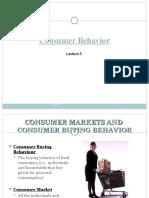 Lecture 5 - Consumer Behavior