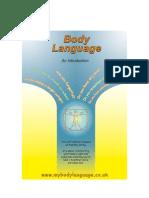 Body Language (of health)