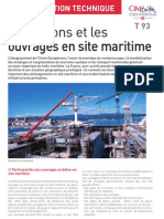T93 Les bétons et les ouvrages en site maritime