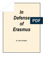 In Defense of Erasmus