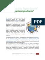 GLOBALIZACION Y REGIONALIZACION
