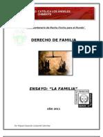 Ensayo La Familia