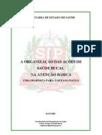 ORGANIZAÇÃO DAS AÇÕES DE SAÚDE BUCAL SÃO PAULO-1