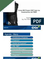 Presentacion  Proyectos PMI