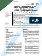 NBR 13973 - 1997 - Transporte e armazenagem de gas metano veicular (GMV) em alta pressao