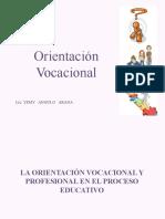 1era.  Clase ORIENTACION VOCACIONAL EN EL PROCESO EDUCATIVO