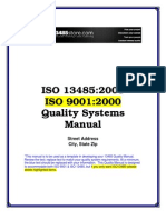 ISO-13485-Quality-Manual-Sample