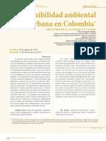 SOSTENIBILIDAD AMBIENTAL COLOMBIA
