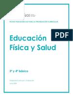 OBJETIVOS TRABAJADOS PRIORIZACIÓN 4°B EDUC. FÍSICA
