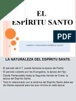 EL ESPÍRITU SANTO PRESENTACION PARA LA IGLESIA