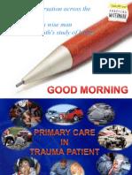 Primary Care in Trauma Patient