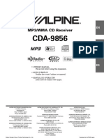 Alpine CDA-9856 Manual