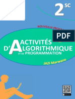 Cahier Des Activités d'Algorithmique SC