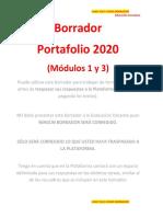 Word Educacion Parvularia 2020