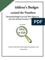 Focus on Kids Full Budget