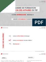 Module 5- Groupe d' Echanges