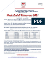 Bando WEEK END PRIMAVERA v02