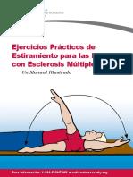 Brochure Ejercicios Practicos de Estiramiento Para Las Personas Con Esclerosis Multiple